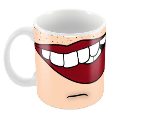lips Coffee Mugs | Artist : DISHA BHANOT