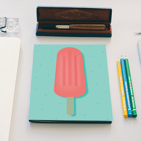 Popsicle notebook Notebook | Artist : Shloka Bajaj