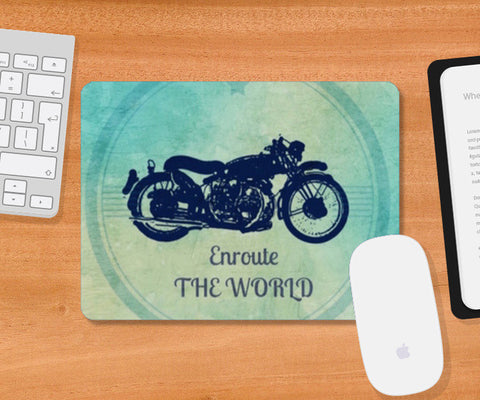 Travel Mousepad | Artist : Quirky Designs by Priyanka Singhania