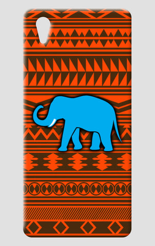 Blue Elephant One Plus X Cases | Artist : Vaishak Seraphim