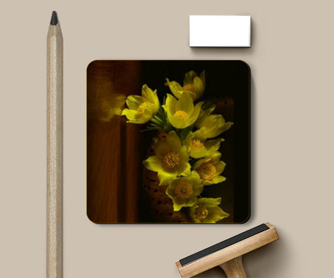 Coasters, Flowerss Coasters | Artist : CK GANDHI, - PosterGully
