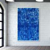 blue Wall Art | Artist : sanjay kumar