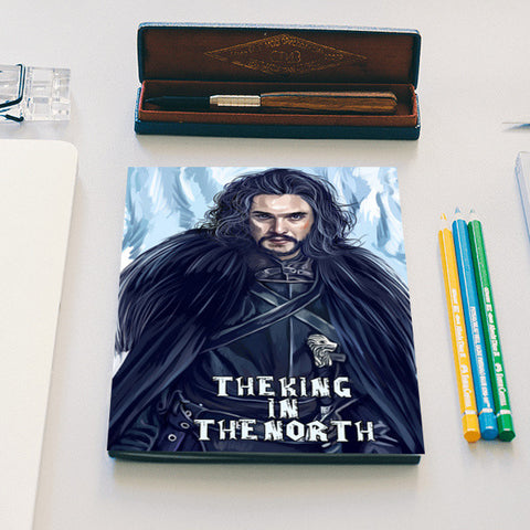 the king in the north Notebook | Artist : chaitanya kumar