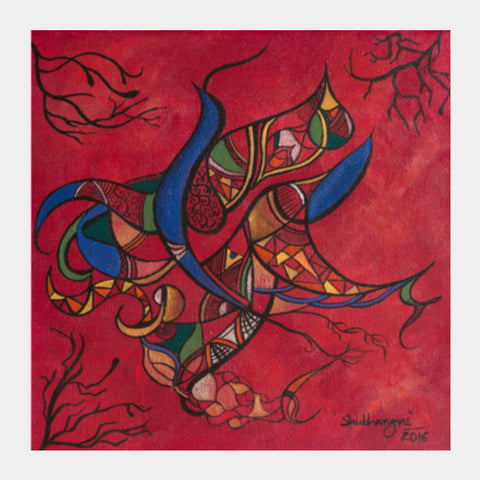 Autumn Bird Square Art Prints PosterGully Specials