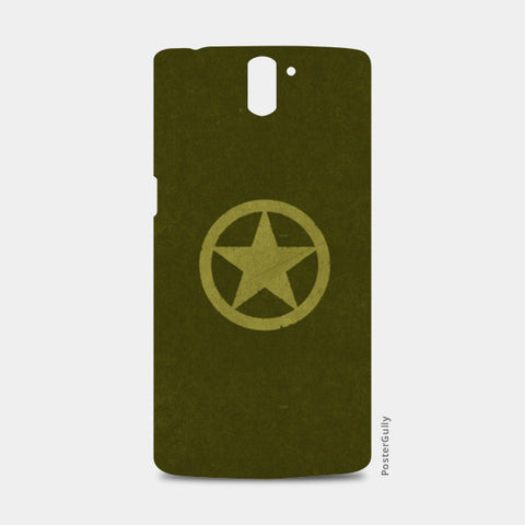 One Plus One Cases, BRAVE ARMY STAR BADGE  One Plus One Cases | Artist : dooo, - PosterGully