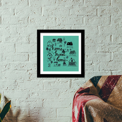 home Premium Square Italian Wooden Frames | Artist : The Doodler dentist