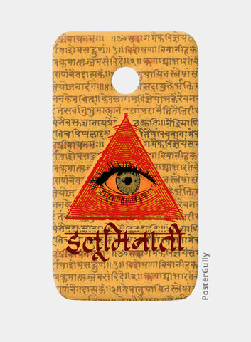 Moto E Cases, illuminati Moto E Cases | Artist : desiGuy, - PosterGully