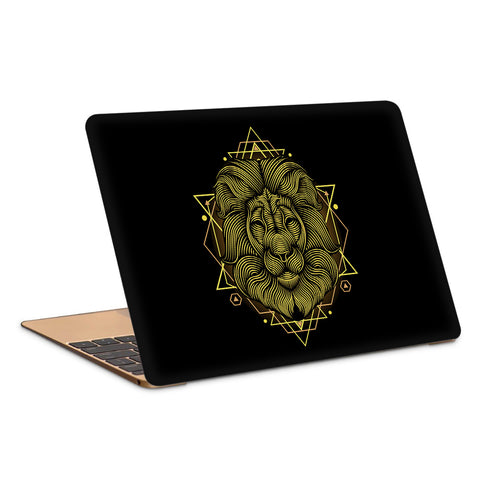 Lion Intricate Artwork Laptop Skin
