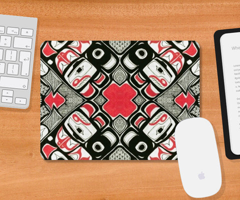 Haida Mousepad | Artist : the unskilled artist