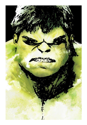 Wall Art, The Incredible Hulk Movie Comic Character Artwork | Artist: Pulkit Taneja, - PosterGully