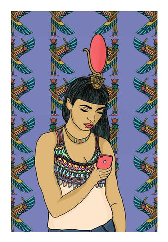 Goddess Isis Art PosterGully Specials