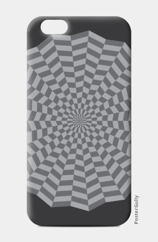 iPhone 6 / 6s, ILLUSION-GREY iPhone 6 / 6s Cases | Artist : Sonia Punyani, - PosterGully