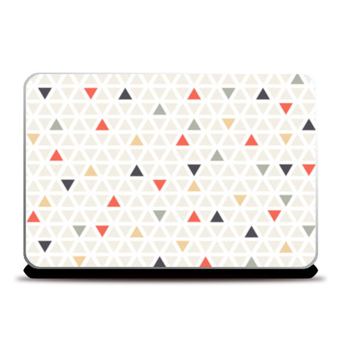 Triangle Pattern Scarf Laptop Skins | Artist : The Un.Titled