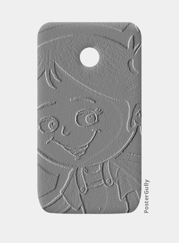 3D Cute Girl Moto E Cases | Artist : ashman's
