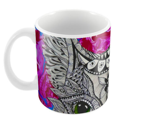 What's Going On Coffee Mugs | Artist : lubaina kapoor