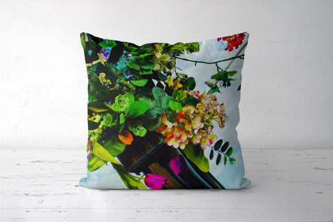 Bouquet of Flowers Cushion Covers | Artist : Yagneswar