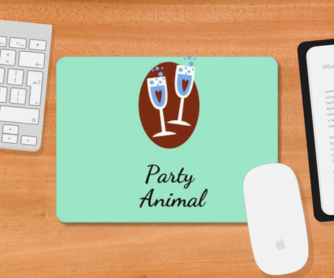 Party Animal Mousepad | Artist : Pallavi Rawal