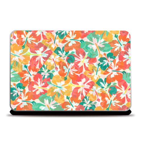 POPPIES Laptop Skins | Artist : PUJA KUMAR