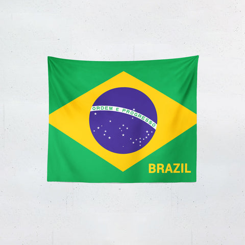 Brazil Flag Tapestries | #Footballfan
