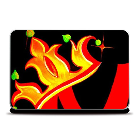Signature #M Laptop Skins | Artist : Signature collection