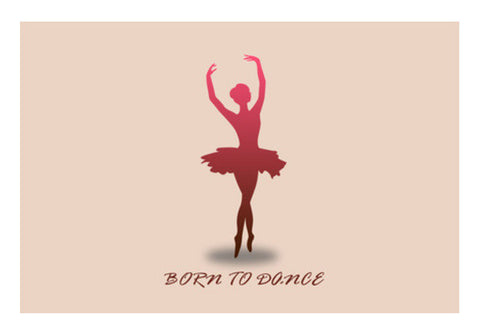 Born to Dance Wall Art  | Artist : Arpita Gogoi