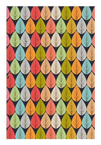 PosterGully Specials, Beautiful vintage leaves pattern Wall Art | Artist : Designerchennai, - PosterGully