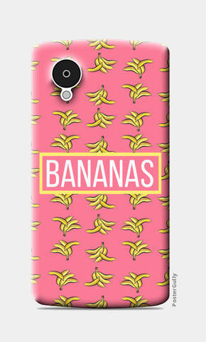 BANANAS Nexus 5 Cases | Artist : DISHA BHANOT