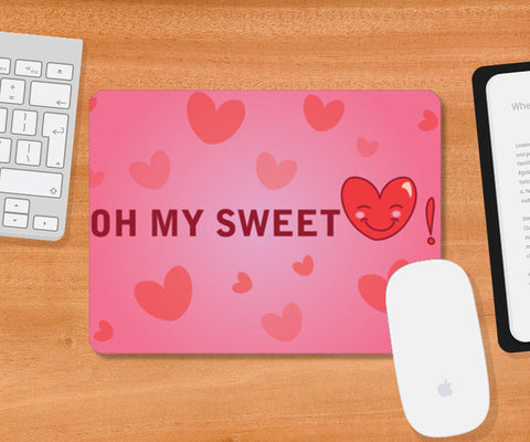 Mousepad, Sweetheart Mousepad | Artist : Anuj Goyal, - PosterGully