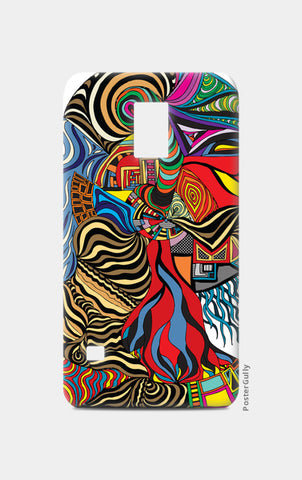 Psychedelic mania! Samsung S5 Cases | Artist : Jessica Maria