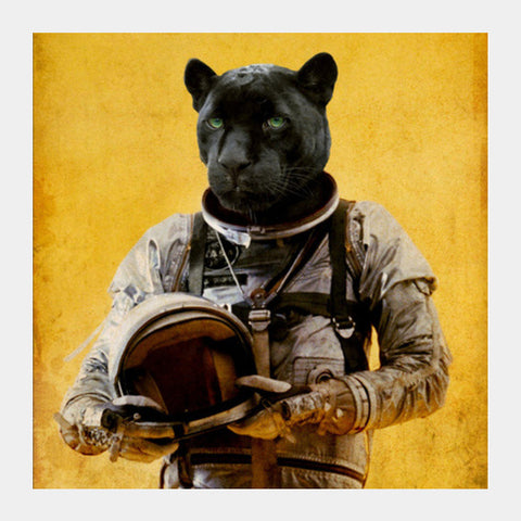 Space Jag Square Art Prints | Artist : Durro Art