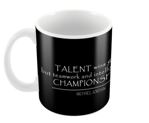 Talent & Championship. Coffee Mugs | Artist : Moonlit Khaos