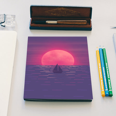 Into the Sea Notebook | Artist : Akshita Shah