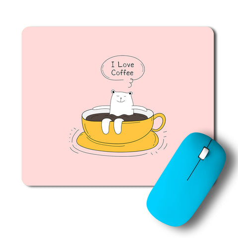 Coffee Lover Chill Artwork Mousepad
