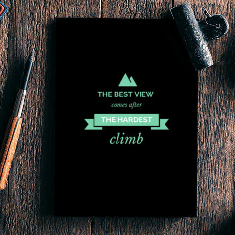 The best view Notebook | Artist : Pallavi Rawal
