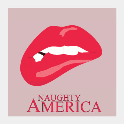 Square Art Prints, Naughty America | Sortedd, - PosterGully