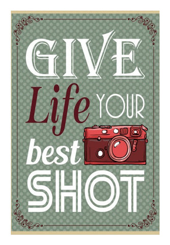 Wall Art, Camera Life Quote Wall Art | Artist : Mosaik, - PosterGully