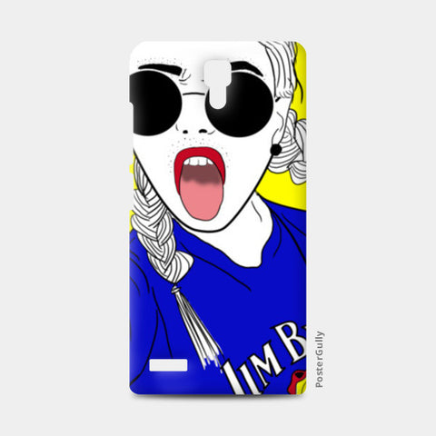 Girl swag! Redmi Note Cases | Artist : DISHA BHANOT