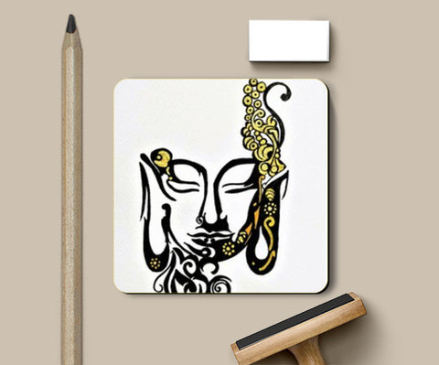 PosterGully Coasters, #Buddha#Peace Coasters | Artist : Divya Iyer, - PosterGully