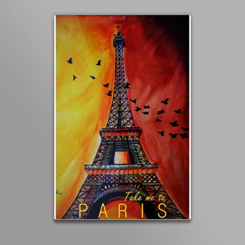 Paris, please? Metal Prints | Artist : Chahat Suri