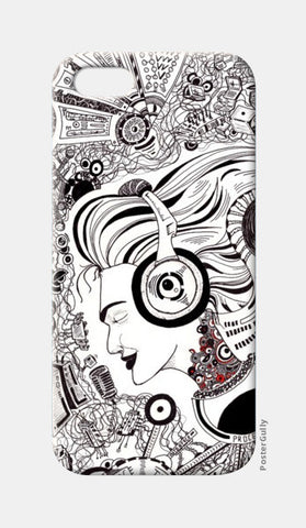 iPhone 5 Cases, Muzikerene iPhone 5 Cases | Artist : Val-i-llustration, - PosterGully