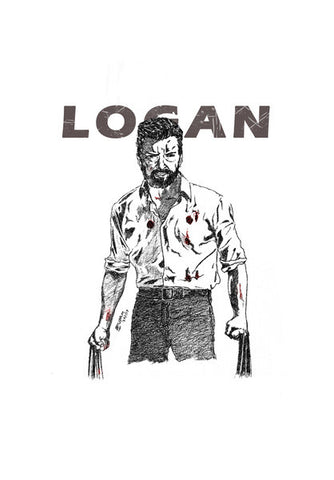 Logan Artwork  Wall Art | Artist : Anupam Prasoon