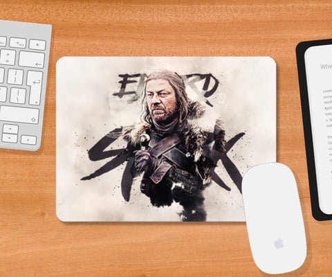 Eddard Stark Digital Painting | Game of Thrones Mousepad | Artist : Gub Gub