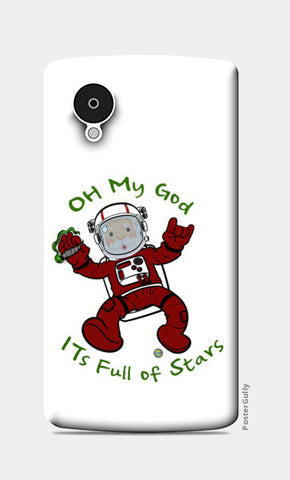 Nexus 5 Cases, Astro Claus Nexus 5 Cases | Artist : Bum from the Bay, - PosterGully