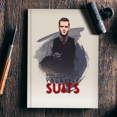 Suits | Harvey Specter | Quote Notebook | Artist : Vivid Corner