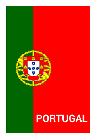 Portugal | #Footballfan Wall Art | Artist : Creative DJ