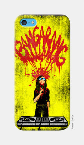 Skrillex Artwork iPhone 5c Cases | Artist : Pankaj Bhambri