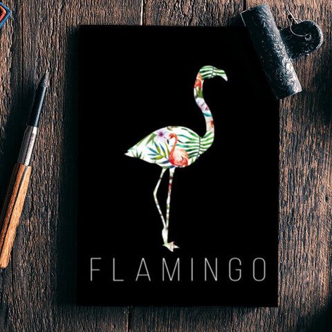Flamingo Notebook | Artist : DISHA BHANOT