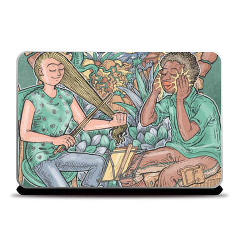 Laptop Skins, The Music Makers Laptop Skins | Artist : Charbak Dipta, - PosterGully