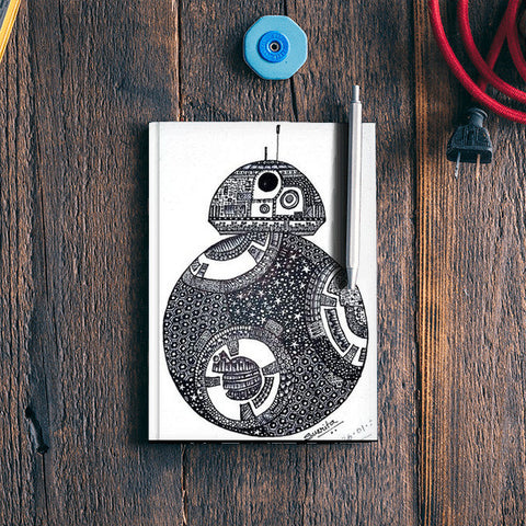 BB-8 Notebook | Artist : Susrita Samantaray