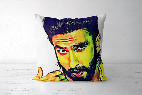 Ranveer Singh Cushion Covers | Artist : Delusion